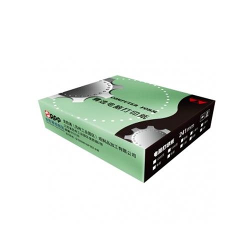 精选牌241电打压感打印纸1000页包装1-6联批发
