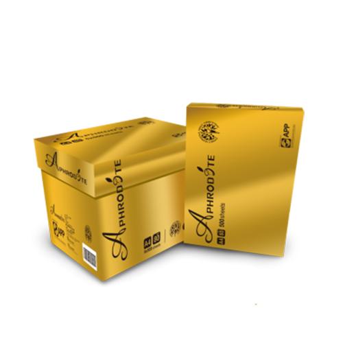阿芙洛狄特复印纸80克纯木浆不卡纸A4纸批发